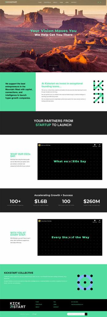 Kickstart Fund Website Redesign