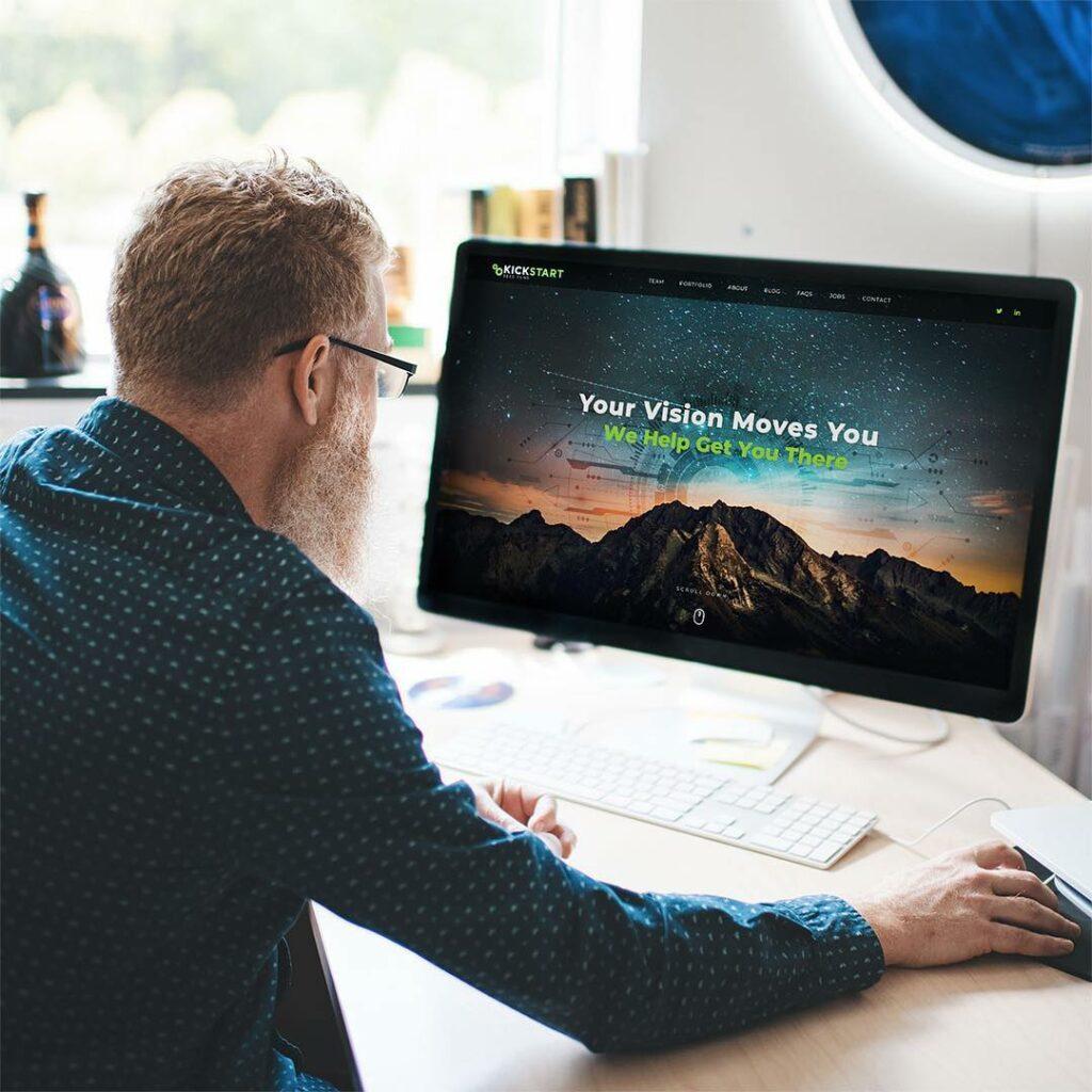 Kickstart Seed Fund Website Redesign